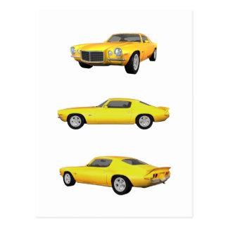 Camaro 1972: postales