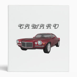 "Camaro 1972 Z28: Coche del músculo: Caramelo Apple Carpeta 1"""