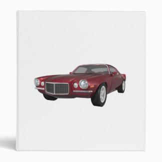"Camaro 1972 Z28: Coche del músculo: Caramelo Carpeta 1"""
