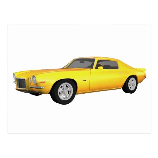 Camaro 1972 Z28: Coche del músculo: Final Postal