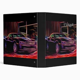 Camaro 2010 3 ring binder