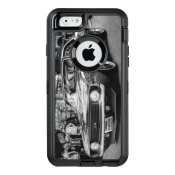Camaro Black And White Phone Case by Motorsports_Designs at Zazzle