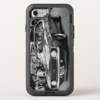 Camaro Black and white phone OtterBox Defender iPhone 8/7 Case