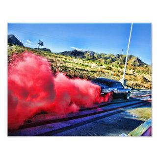 Camaro Burnout Photo Print