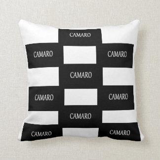 Camaro Checkered Pillow