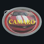 "Camaro Fan Buckle Oval Belt Buckle<br><div class=""desc"">Camaro Buckles</div>"