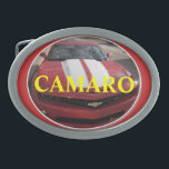 "Camaro Fan Buckle Oval Belt Buckle<br><div class=""desc"">Camaro Buckles</div>"