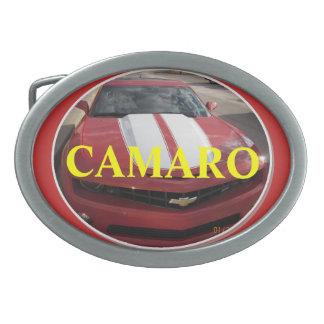 Camaro Fan Buckle Oval Belt Buckle