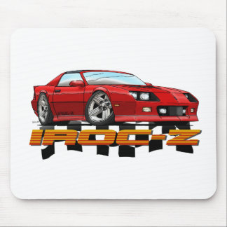 CAMARO_IROC_Z_red Mouse Pad