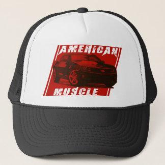 Camaro Sees Red Trucker Hat