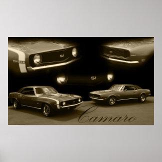 Camaro SS Poster