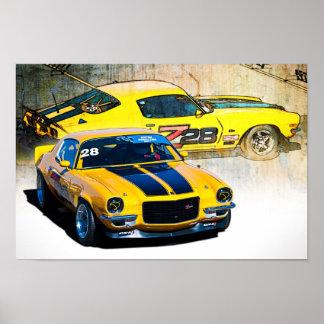 Camaro Z28 Poster