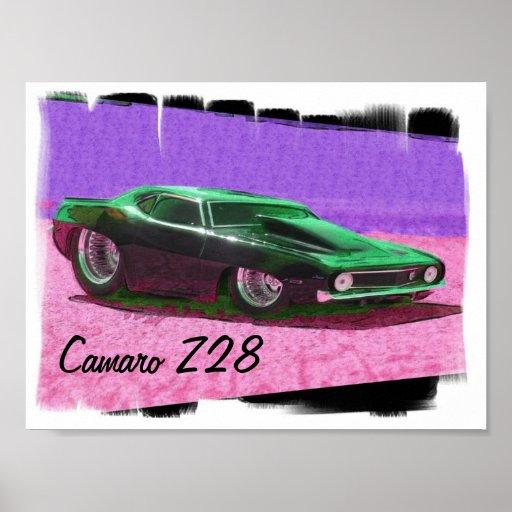 Camaro Z28 Print