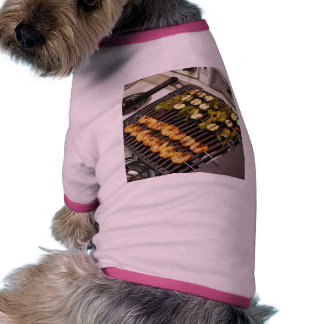 Camarón asado a la parrilla de Cajon Camiseta De Mascota