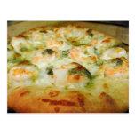 Camarón de Pesto del queso de las pizzas Postales