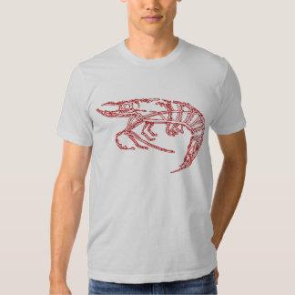 Camarón rojo playera