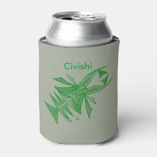 Camarón verde enfriador de latas