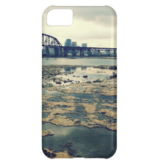 Camas del fósil del río Ohio Funda Para iPhone 5C