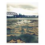 Camas del fósil del río Ohio Membrete A Diseño