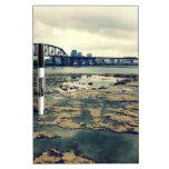 Camas del fósil del río Ohio Tableros Blancos