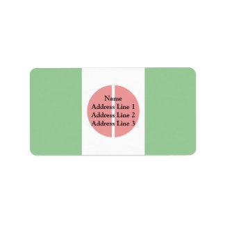 Cambe Parana Brasil, Brazil Personalized Address Labels