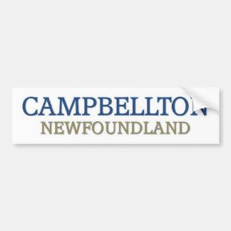 Cambellton Terranova Pegatina Para Auto