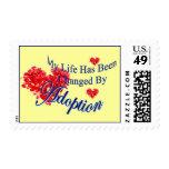 Cambiado por los sellos de la adopción