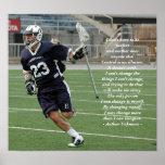 Cambiándose LaCrosse Posters