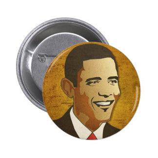 Cambie ahora es - Barack Obama Pin Redondo De 2 Pulgadas