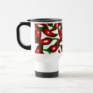Cambie el chile del color taza de viaje de acero inoxidable