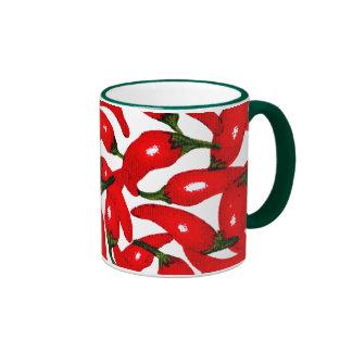 Cambie el chile del color taza a dos colores