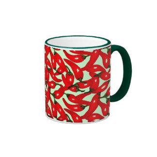 Cambie el chile del color taza de dos colores