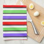 Cambie el color Stripe3 Toalla De Cocina