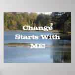 ¡Cambie el comienzo conmigo! Impresiones