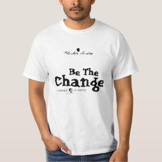 Cambie el mundo playera