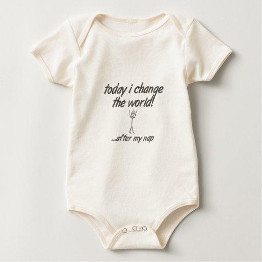 ¡Cambie el mundo! Trajes De Bebé
