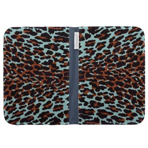 Cambie el papel pintado del leopardo del color