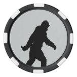 Cambie el personalizar gris del tecleo del color juego de fichas de póquer