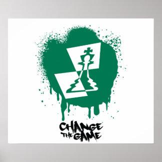 Cambie el poster del juego