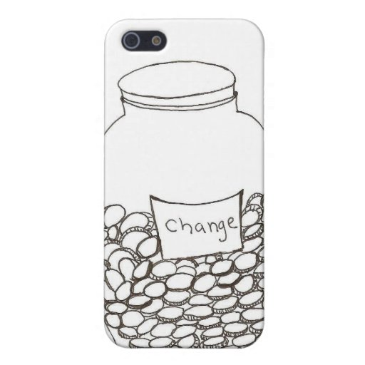 Cambie el tarro iPhone 5 funda