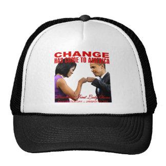 Cambie el topetón del puño gorra