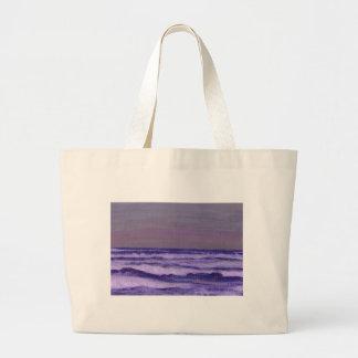 Cambie en el paisaje marino de las olas oceánicas  bolsa