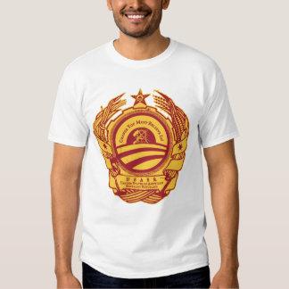 ¡Cambie es obligatorio! Camarada Obama Spoof Shirt Playeras