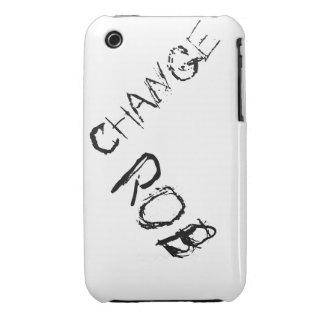 Cambie la caja del teléfono de Rob iPhone 3 Case-Mate Cárcasa