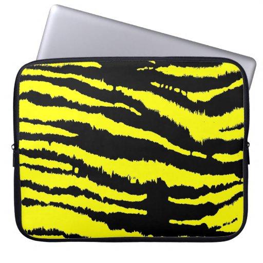 Cambie la cebra del color mangas portátiles