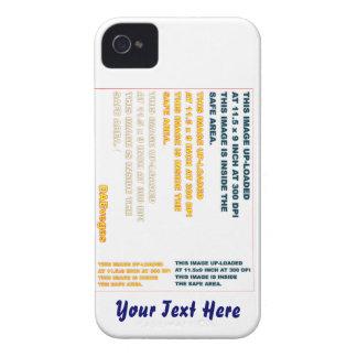 Cambie la imagen o suprima la recarga del texto iPhone 4 Case-Mate cobertura