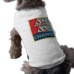 Cambie las camisetas del perro camisa de perrito