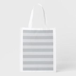 Cambie las rayas grises a cualquier personalizar bolsa de la compra