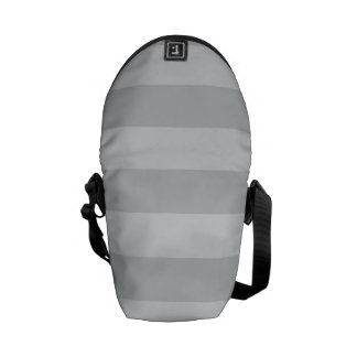 Cambie las rayas grises a cualquier personalizar bolsa messenger