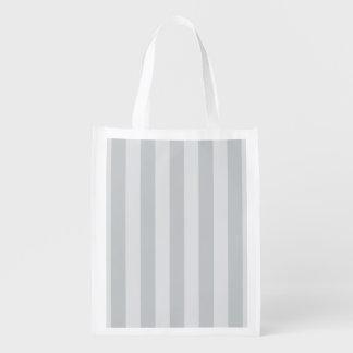 Cambie las rayas grises a cualquier personalizar bolsas de la compra